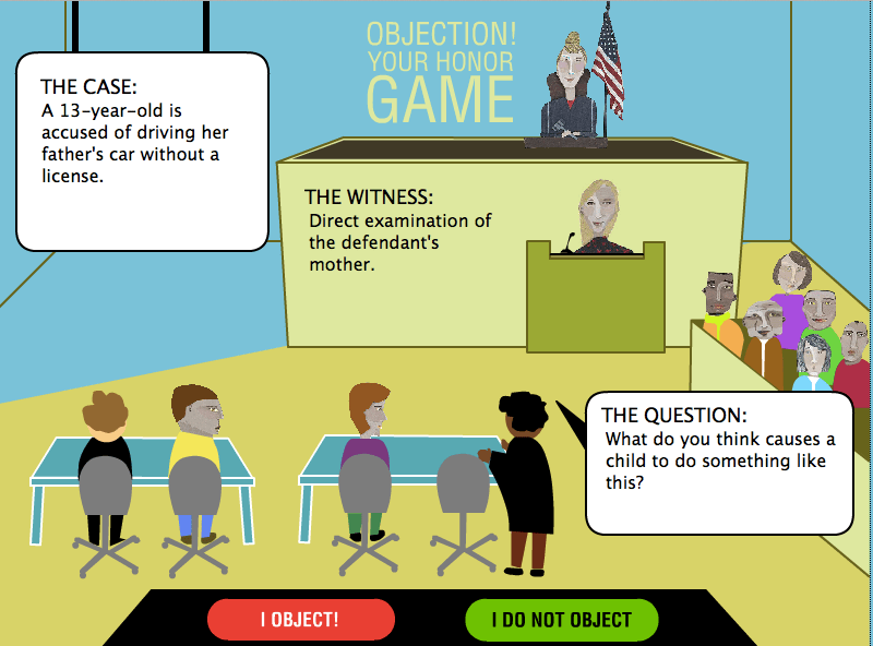 Lightweight Law Games Objection Your Honor Evidence