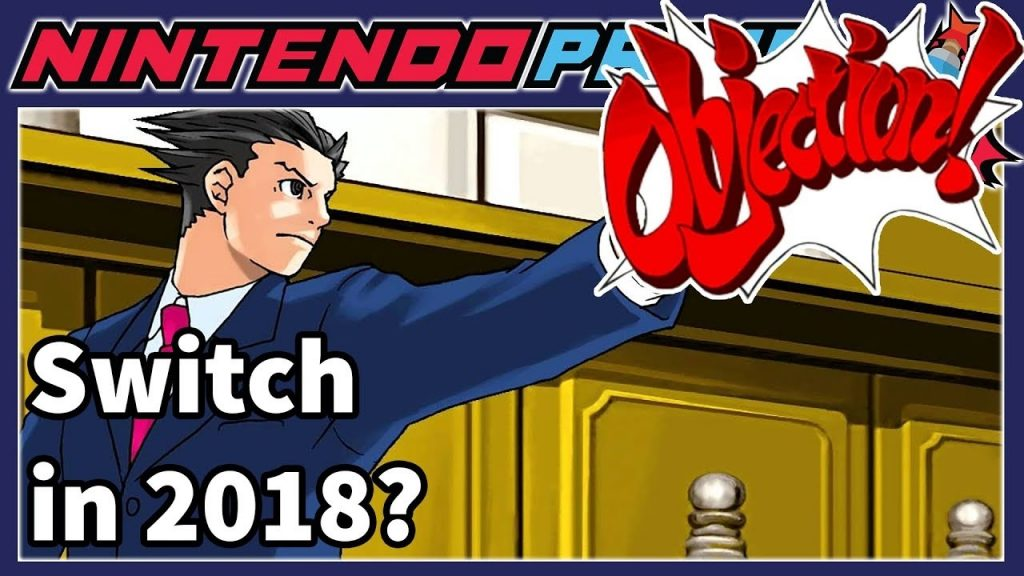 OBJECTION New Ace Attorney Game Coming To Switch More