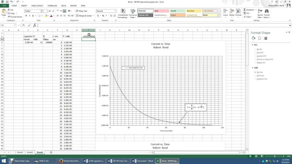 Equations For Linear And Semi Log Graphs YouTube