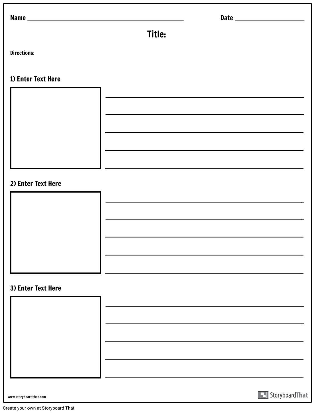 Images And Text Worksheet Templates Worksheet Maker