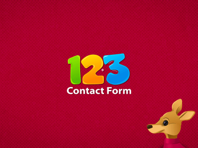 123 Contact Form By Andrei G doiu Dribbble Dribbble