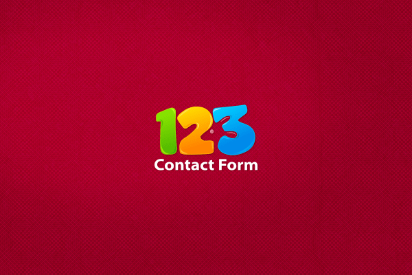 123 Contact Form On Behance
