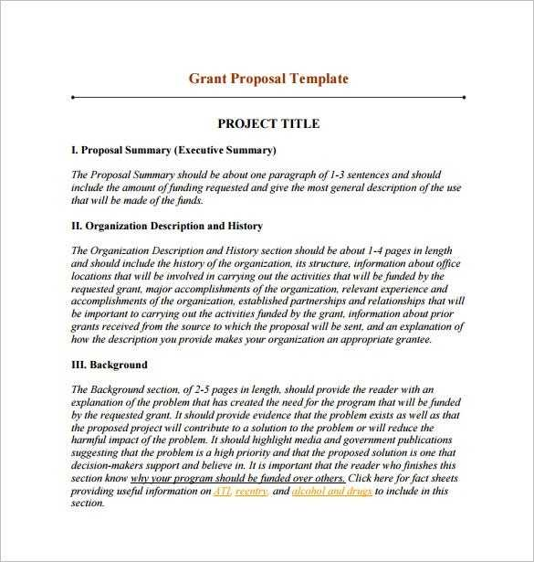 15 Funding Proposal Templates DOC PDF Excel Apple
