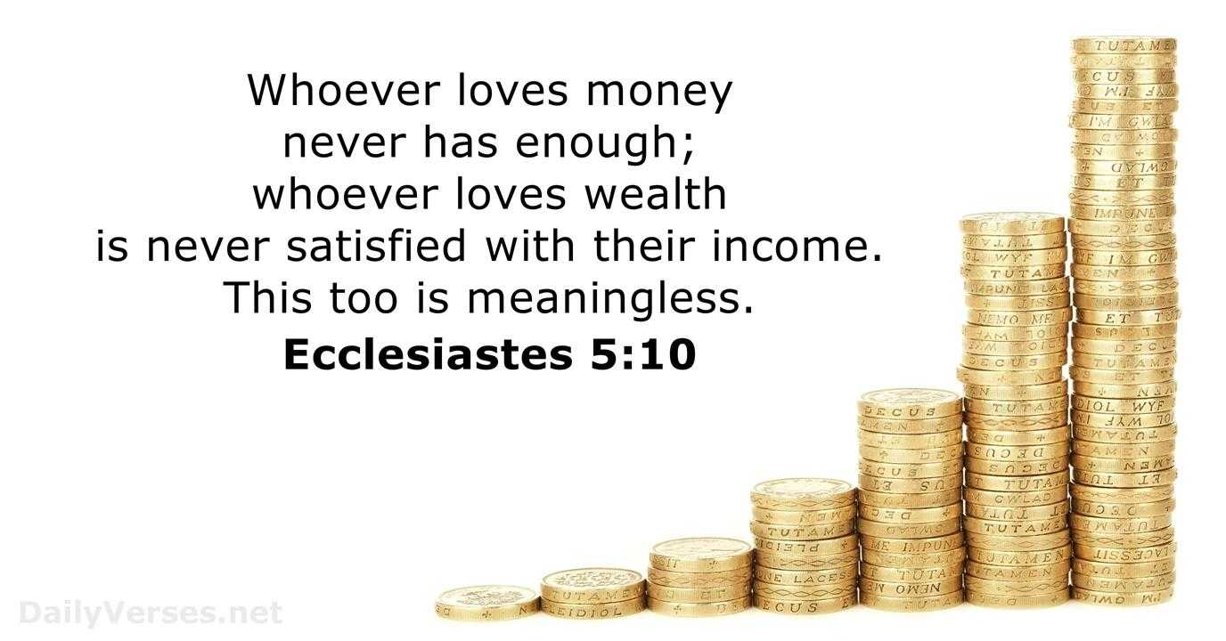 17 Bible Verses About Greed DailyVerses