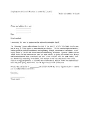 17 Printable How To Write An Eviction Notice To A Family