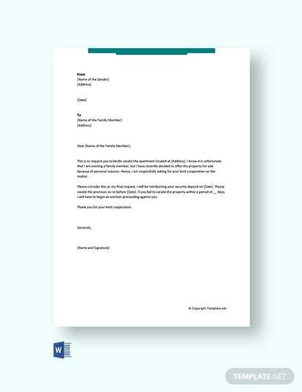 39 FREE Termination Letter Templates Microsoft Word