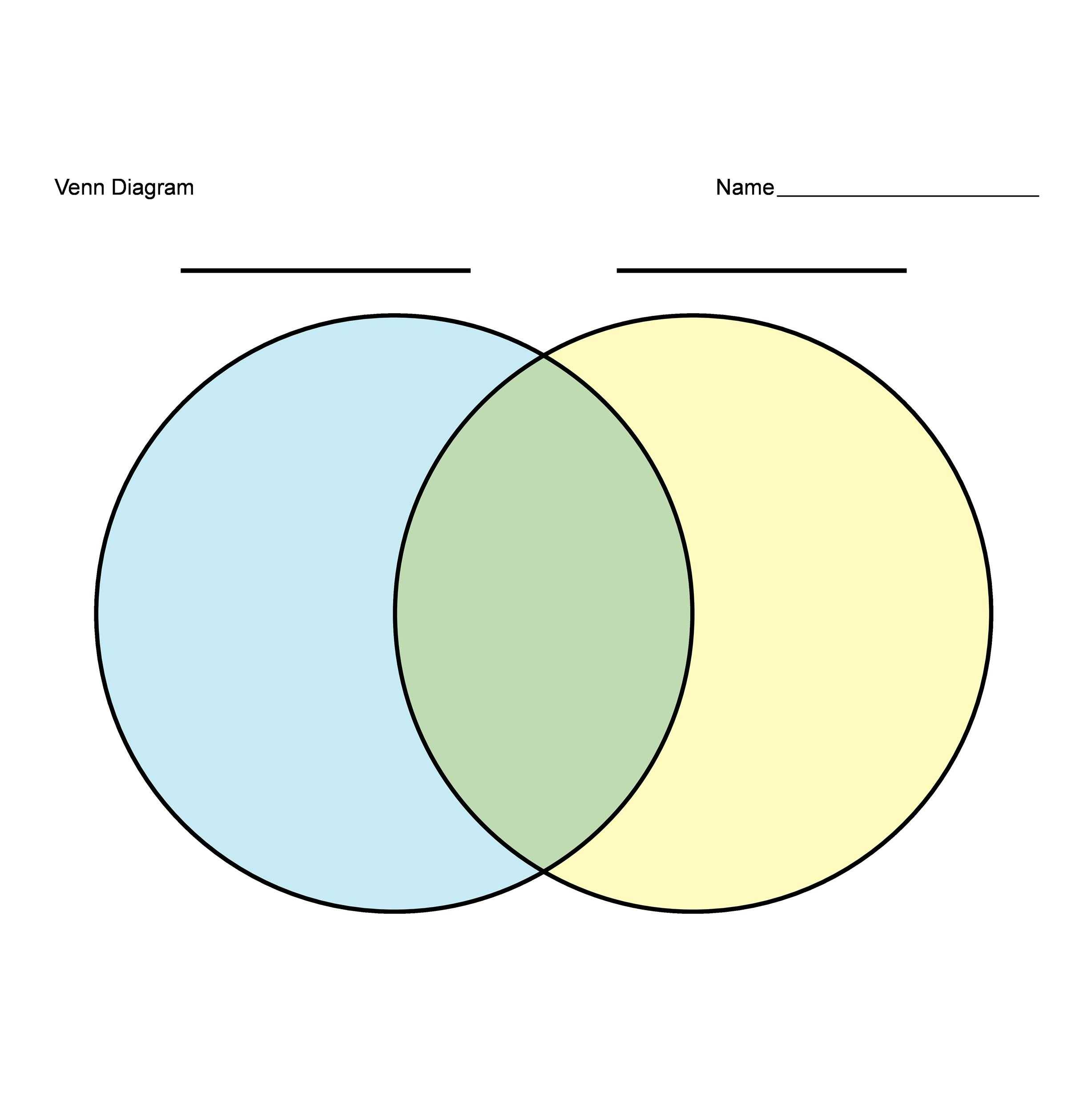 40 Free Venn Diagram Templates Word PDF TemplateLab