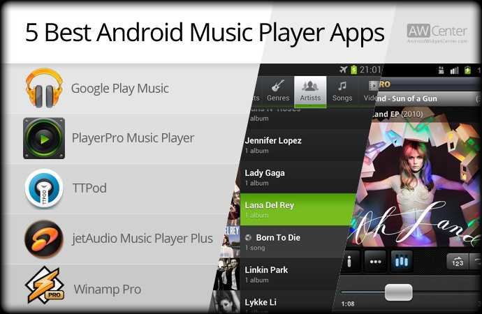 5 Best Android Music App AW Center