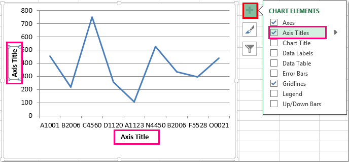 How To Add Axis Label To Chart In Excel