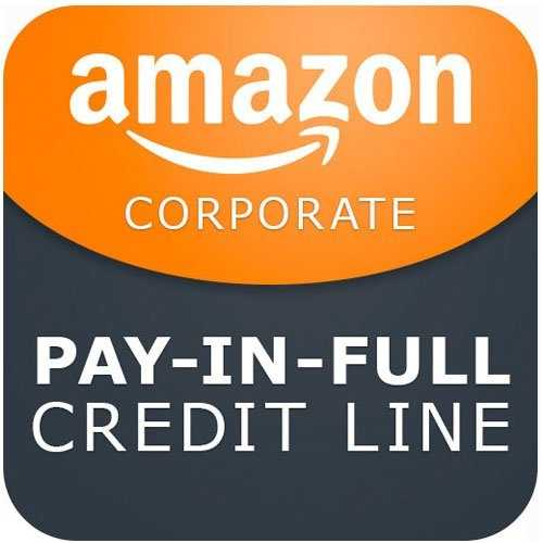 Amazon Amazon Corporate Credit Line Pay in Full