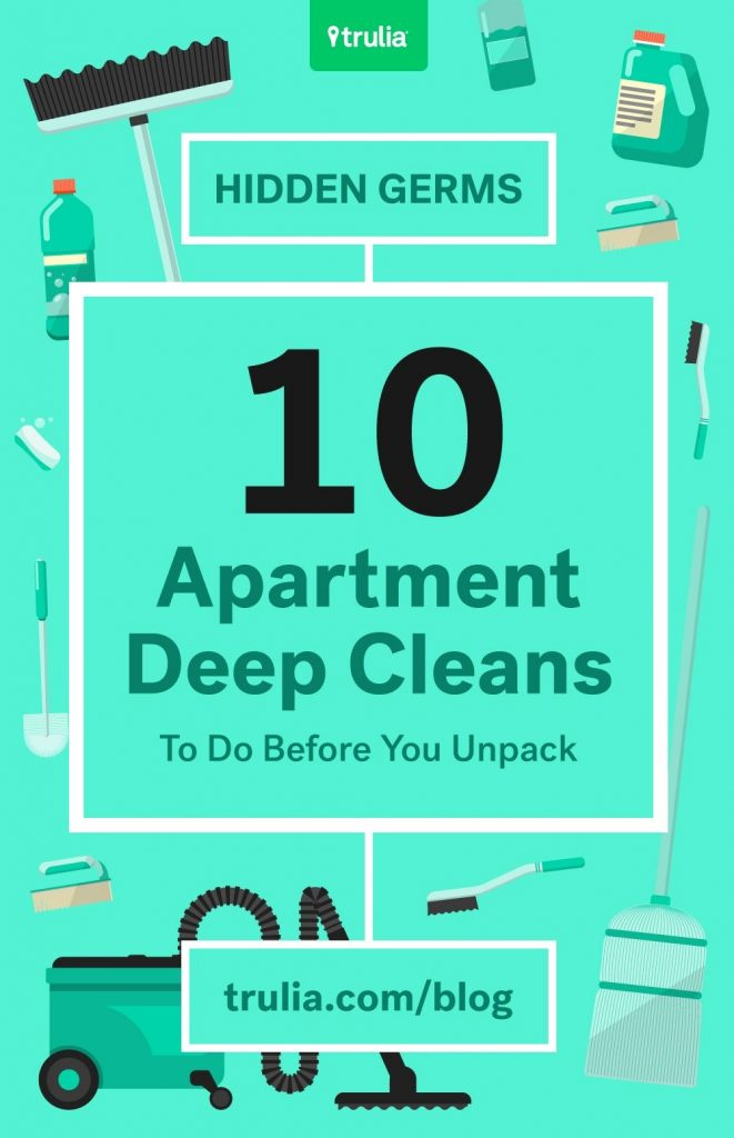 Apt Cleaning Checklist What To Clean Before Moving Into