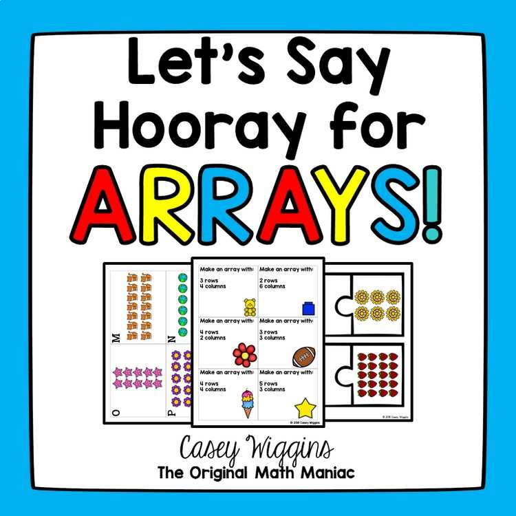 Hooray For Arrays Motivated Math By The Original Math