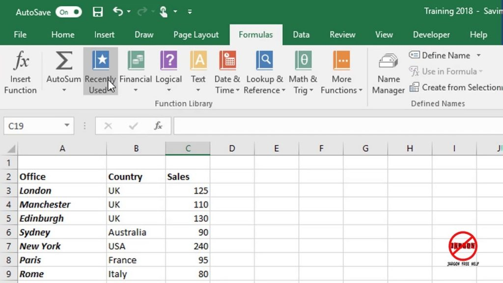 Using The AVERAGEIF Function In Excel YouTube