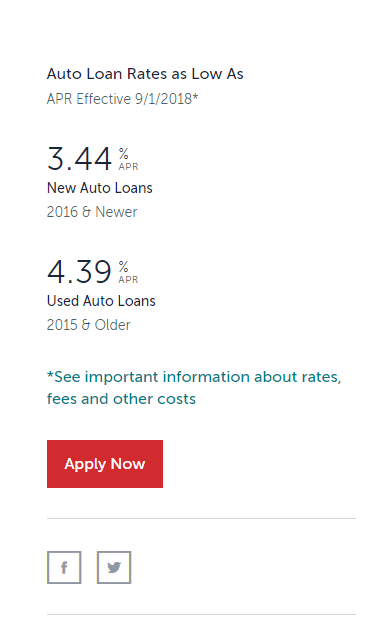BECU Auto Loan Rates And Calculator Online Banking