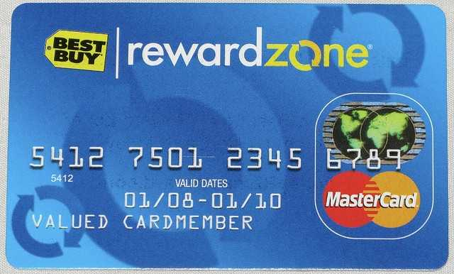 Best Buy Reward Zone MasterCard Credit Card Insider