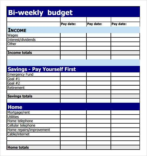 FREE 9 Sample Budget Templates In PDF Excel MS Word