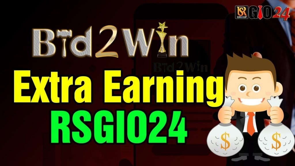 Bid2Win Extra Earning RSGIO24 RSGSHOPS24 RS Group