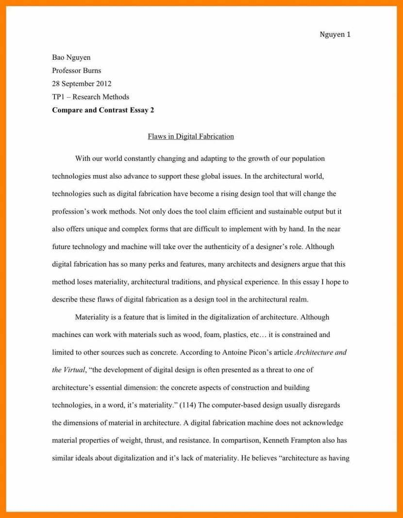 Biographical Essay Example Pdf Essay Writing Top