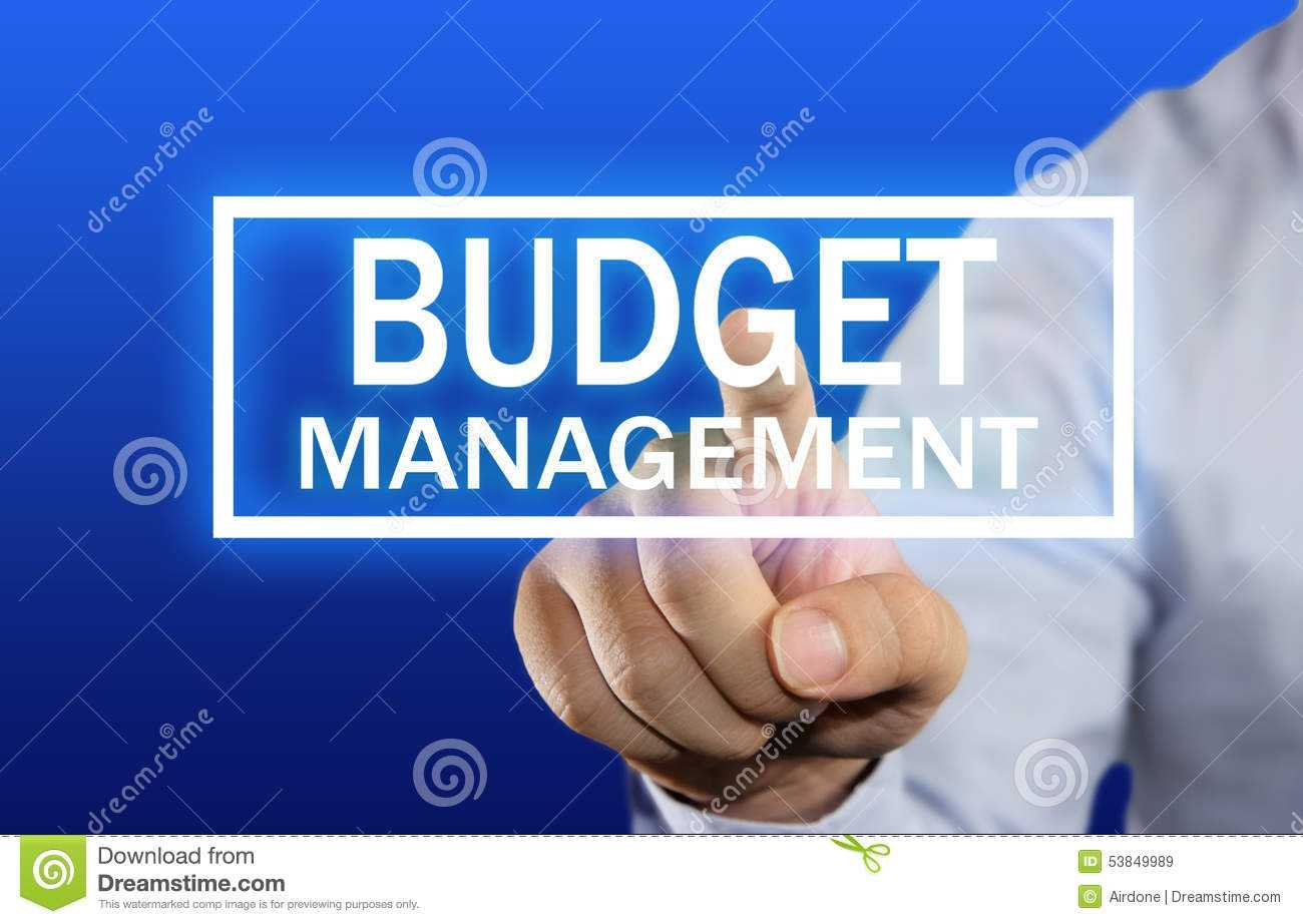 Budget Management Concept Stock Image Image Of Account