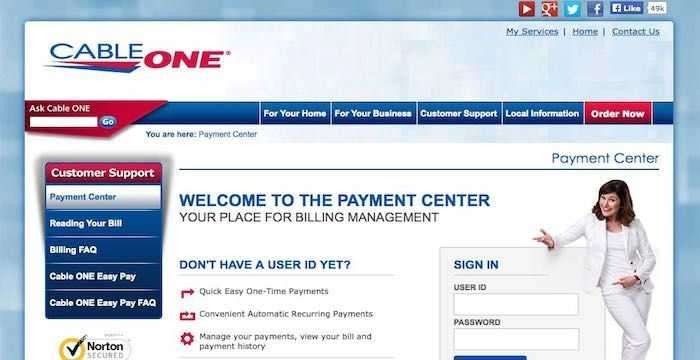 Cable One Bill Pay Paying Bills Cable One Bills