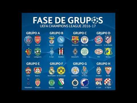 Calendario Champions League 2016 2017 YouTube