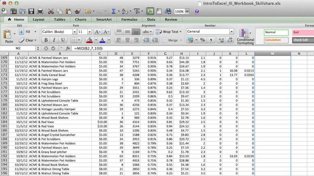 How To Clean Up Raw Data In Excel YouTube