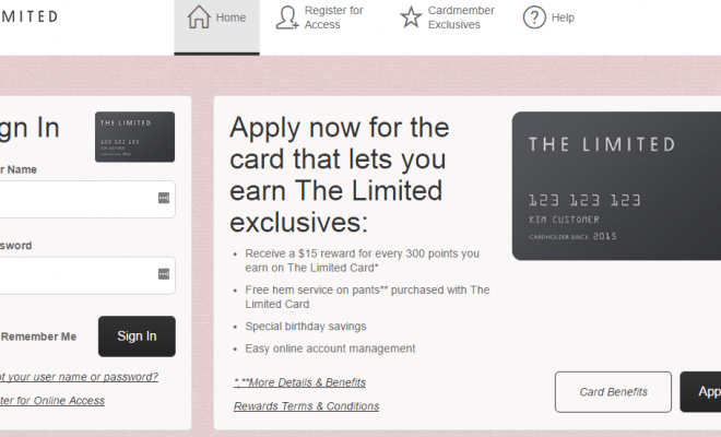 Comenity Net The Limited Credit Card Payment Credit