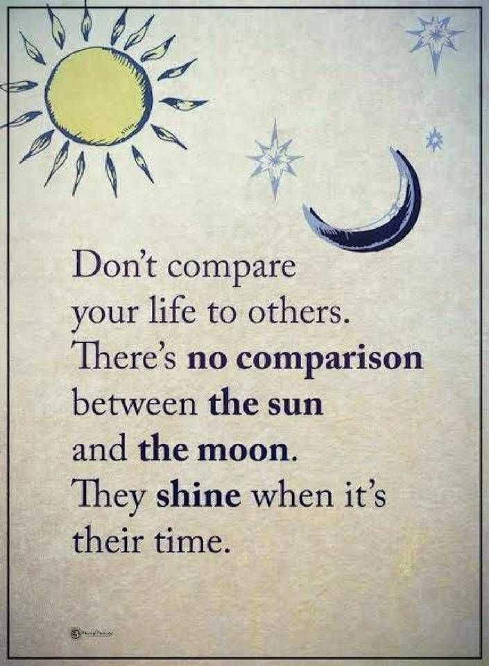 Life Quotes Don t Compare Your Life To Others There s No