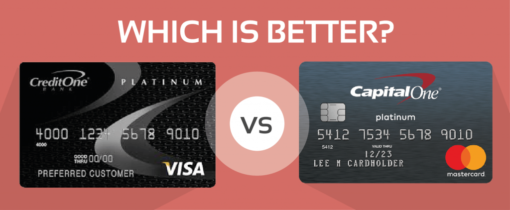 Compared Credit One Unsecured Visa And Capital One