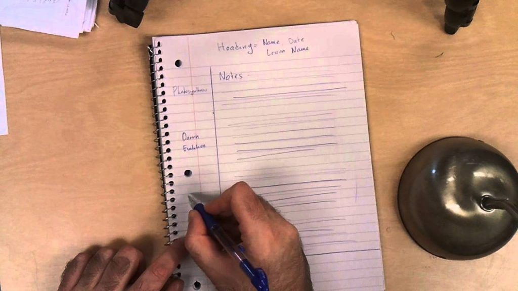 Cornell Notes Interactive Notebook YouTube