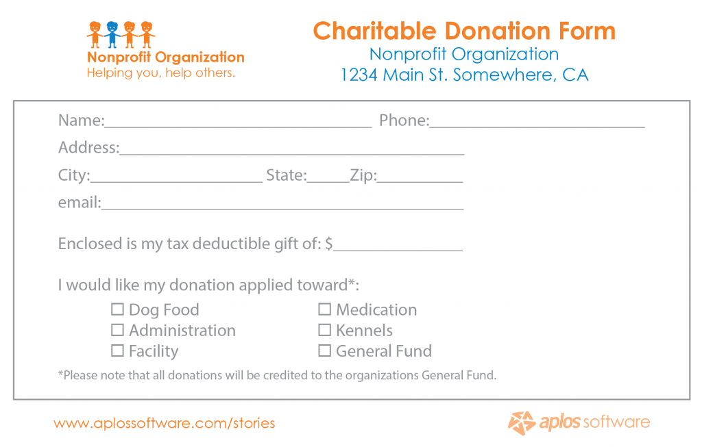 21 Free 36 Free Donation Form Templates Word Excel Formats