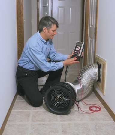 Duct Blaster Testing For Your Home HERS Testing