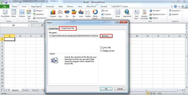 3 Ways To Insert PDF Into Excel