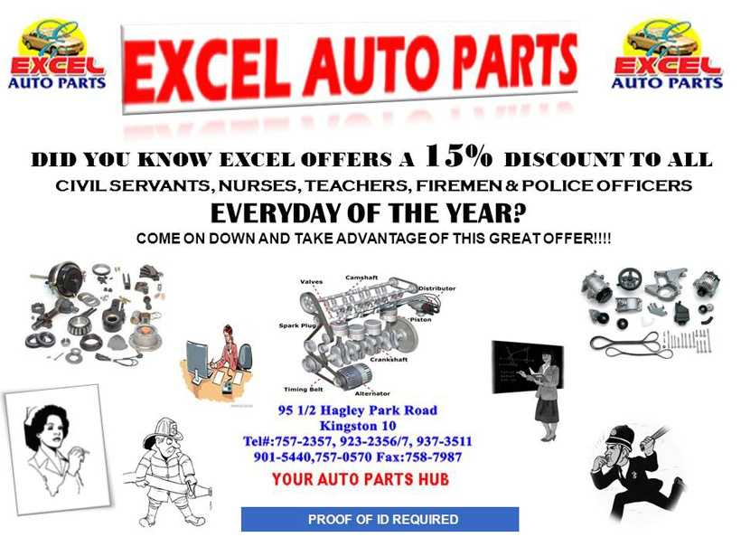Excel Auto Parts Products Toyota Nissan Honda