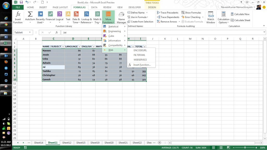 Microsoft Excel 2013 Features Part Two Qainsights