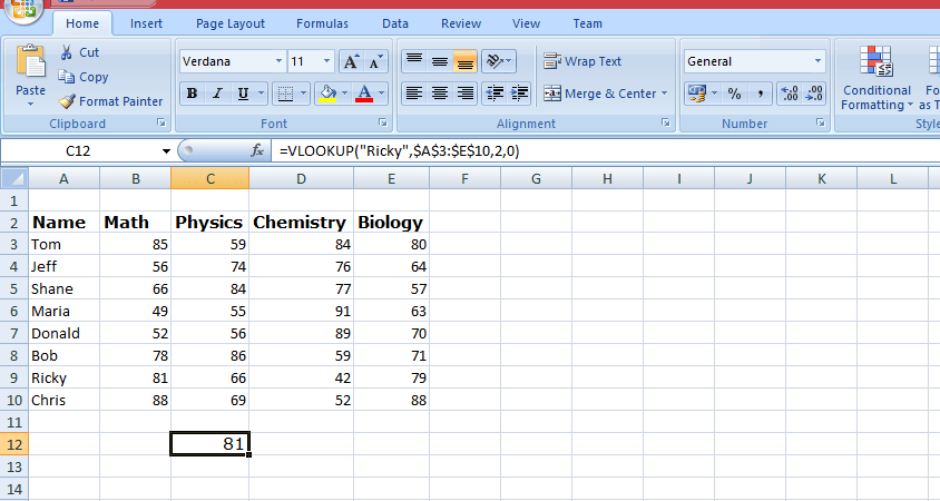 Microsoft Excel Features Best Advanced Features Of MS