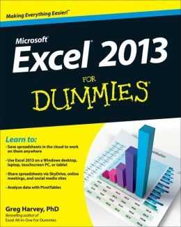 Excel 2013 For Dummies By Greg Harvey 9781118510124