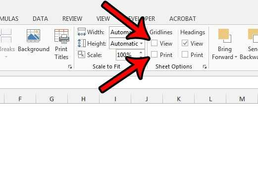 How To Hide Gridlines In Excel 2013 Solve Your Tech