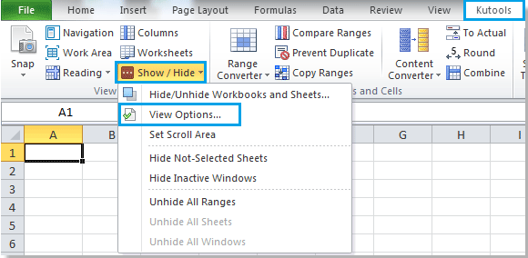 How To Quickly Show Hide Gridlines In Excel