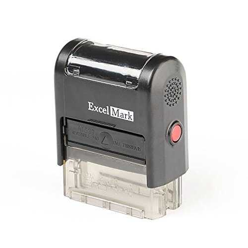 CONTROLLED COPY Self Inking Rubber Stamp Red Ink