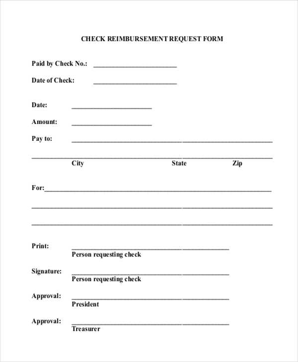 FREE 11 Sample Check Request Forms In PDF MS Word Excel