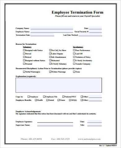 FREE 11 Sample Employee Forms In MS Word PDF