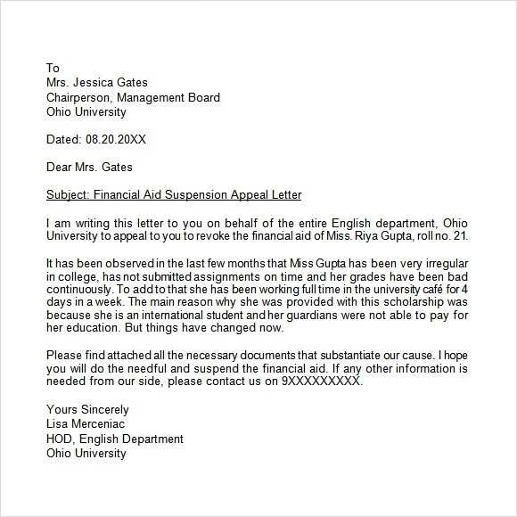 FREE 12 Appeal Letter Templates In MS Word Apple Pages