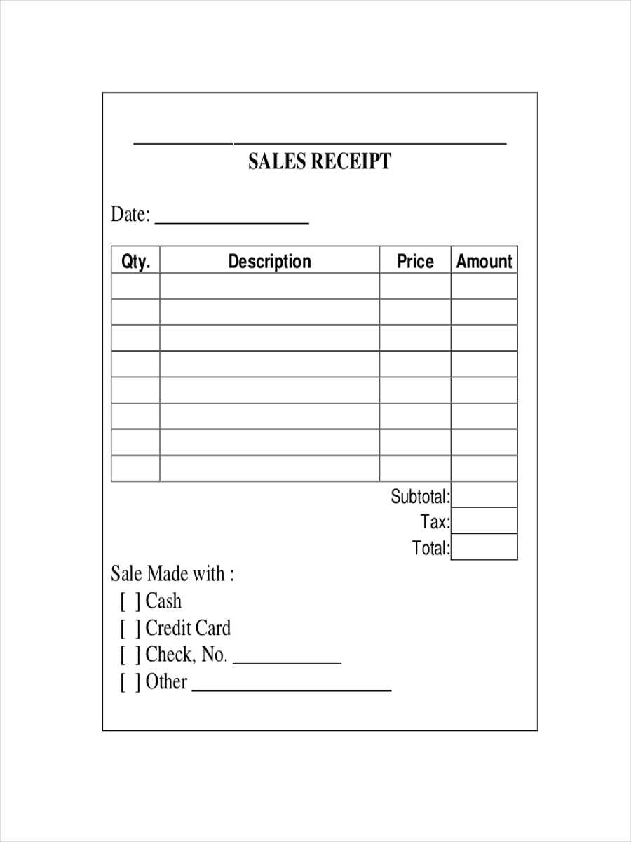 FREE 12 Sales Receipt Examples Samples In Google Docs