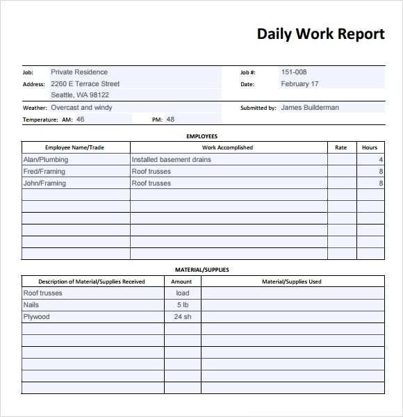 FREE 26 Sample Daily Reports In Google Docs MS Word