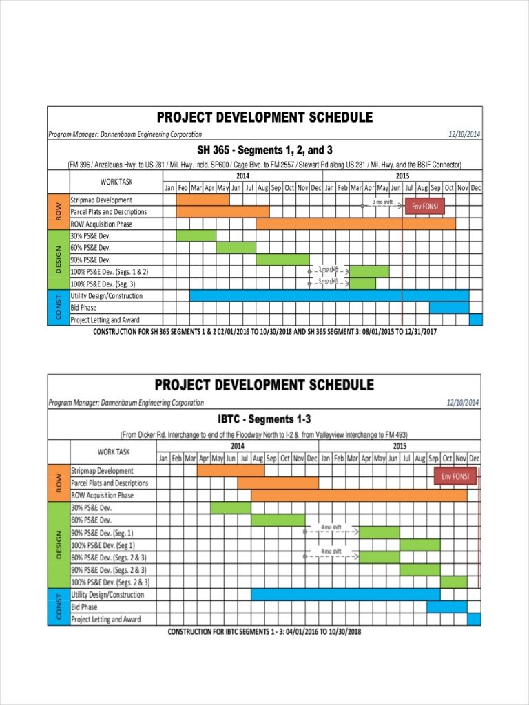 FREE 32 Schedule Examples In PDF DOC XLS Examples