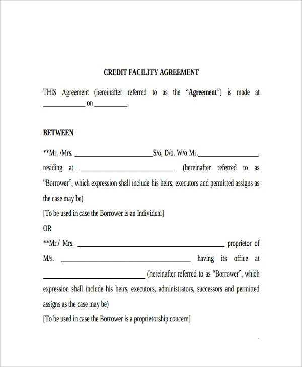 FREE 65 Loan Agreement Form Example In PDF MS Word