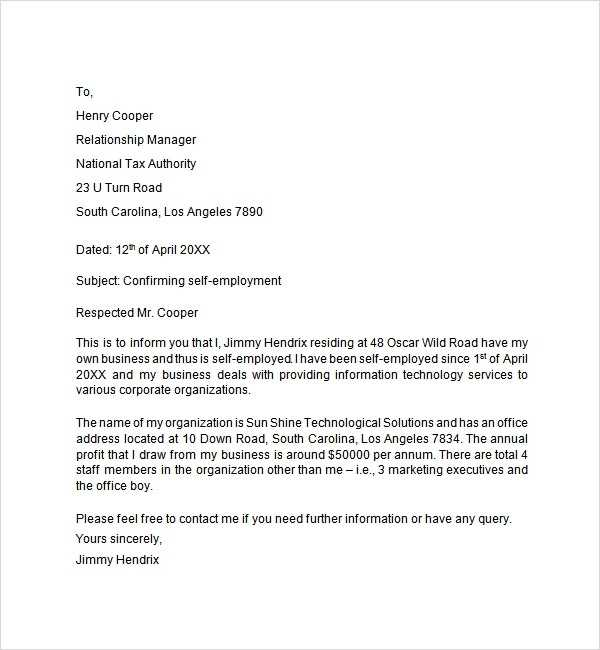 FREE 8 Employment Letter Templates In MS Word PDF