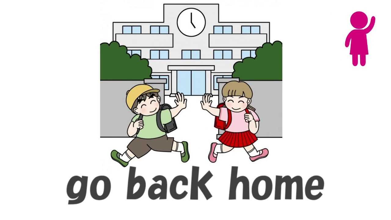 Go To School Daily Routine For Kids Learn English