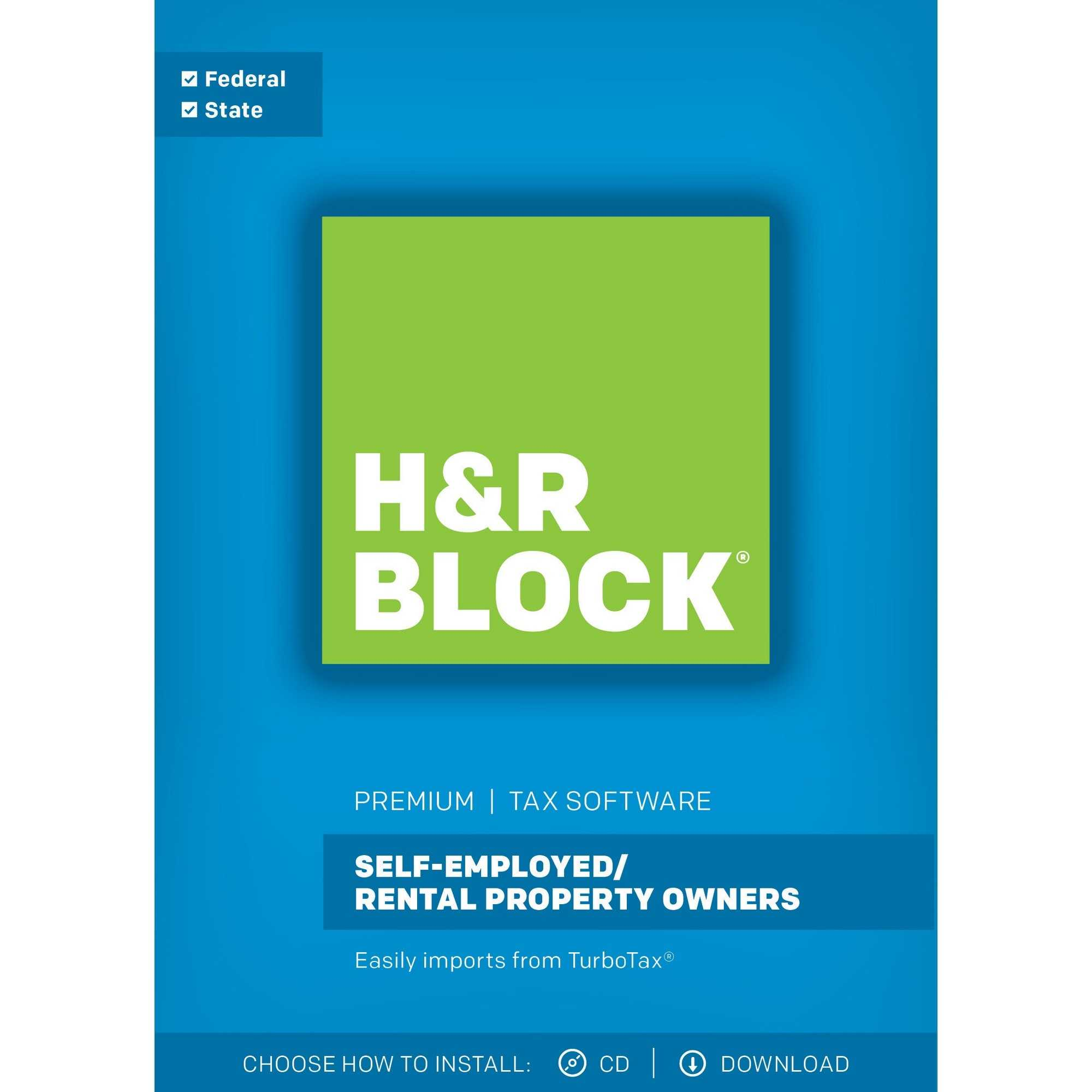 H R Block Premium 2017 Tax Software Software Free